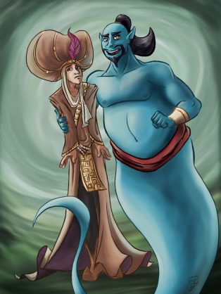 aladdin_and_genie_by_captainfusion-dc699i8